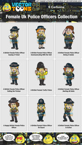 Female Uk Police Officers Collection