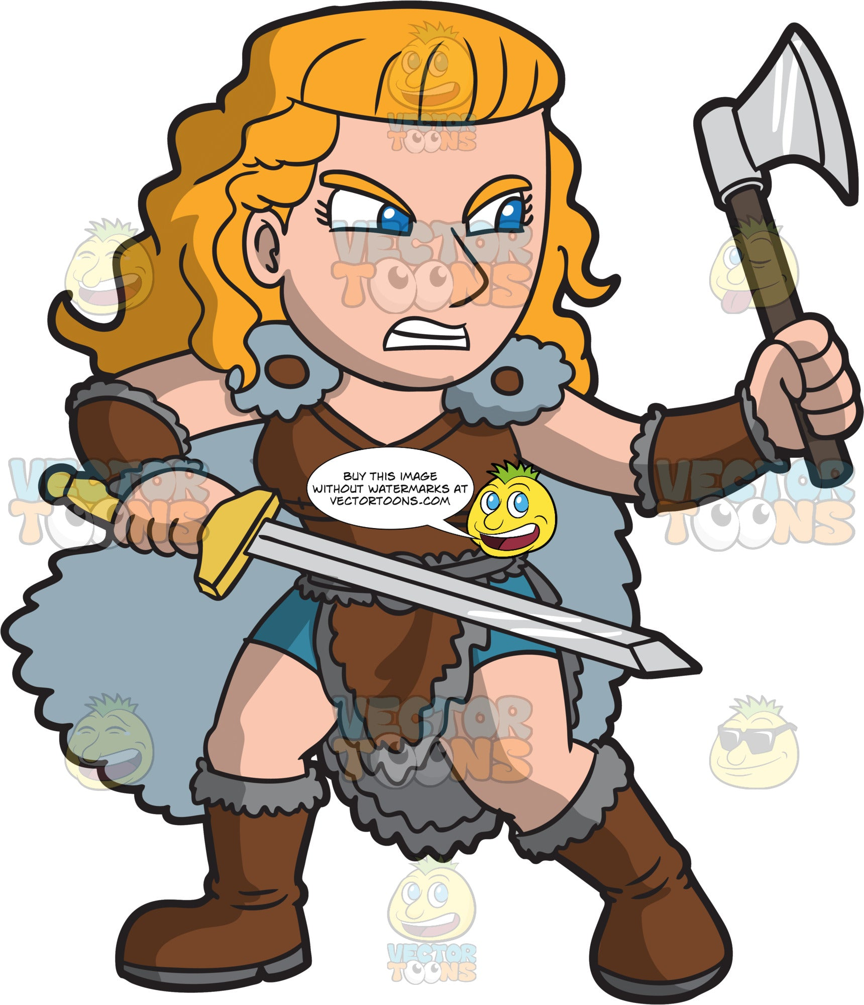 A Fierce Female Viking Warrior