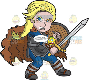 A Strong Female Viking