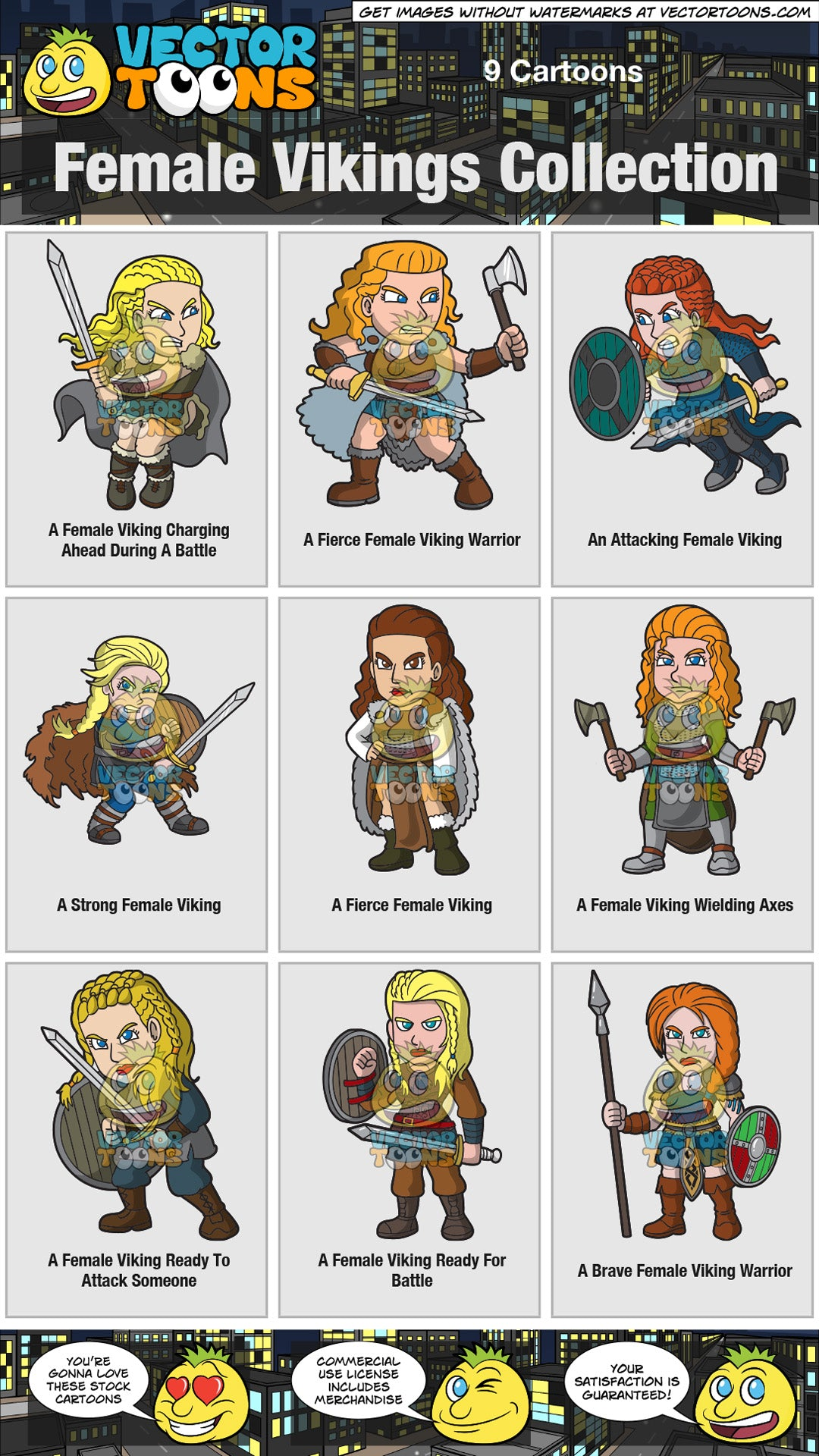 Female Vikings Collection