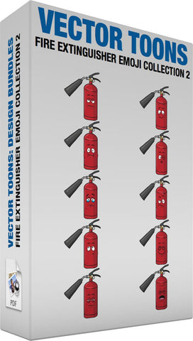 Fire Extinguisher Emoji Collection 2