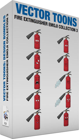 Fire Extinguisher Emoji Collection 3