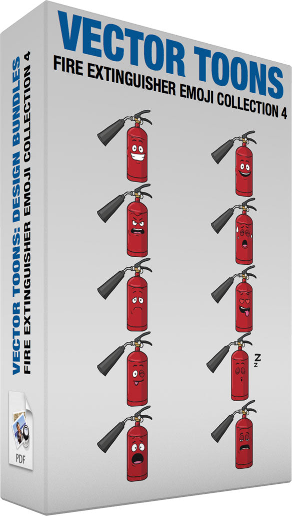 Fire Extinguisher Emoji Collection 4