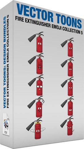 Fire Extinguisher Emoji Collection 5