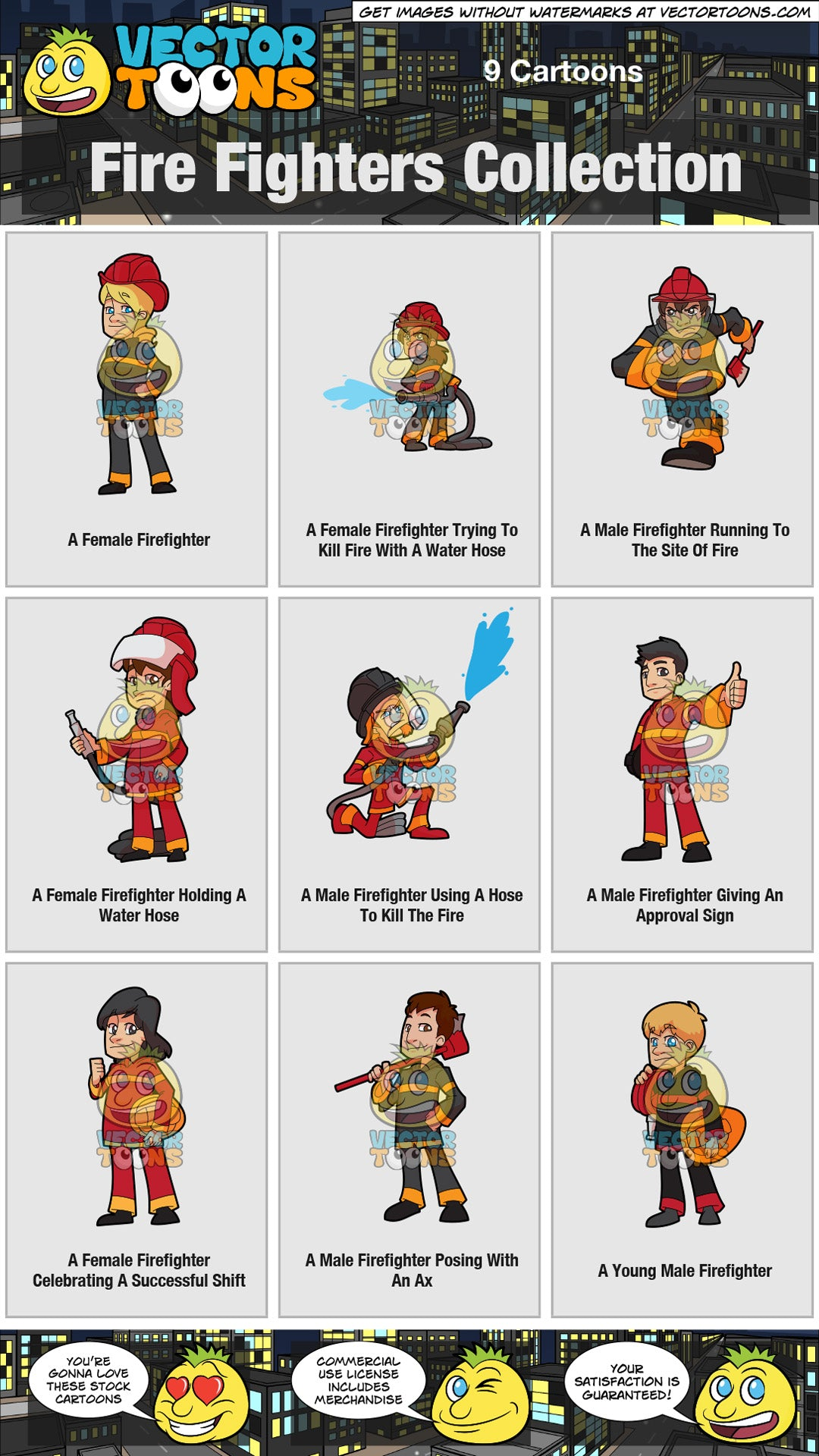 Fire Fighters Collection