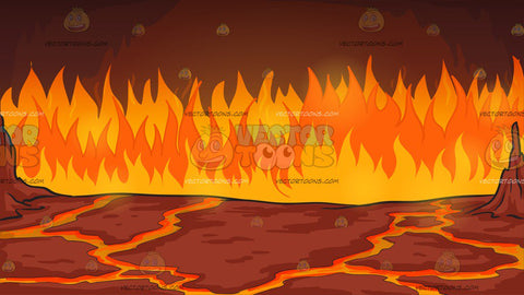 Fires Of Hell Background