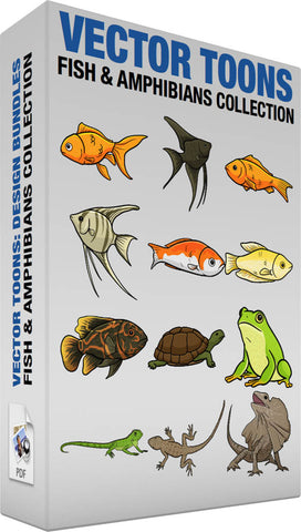 Fish And Amphibians Collection