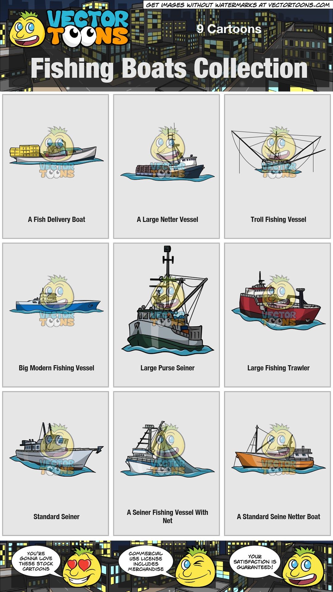 Fishing Boats Collection