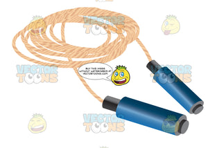 Jump Rope With Blue Handles
