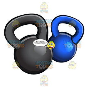 Shiny And Heavy Kettlebells