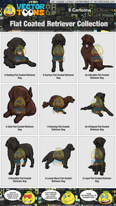 Flat Coated Retriever Collection