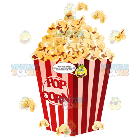 Movie Theater Popcorn In A Box