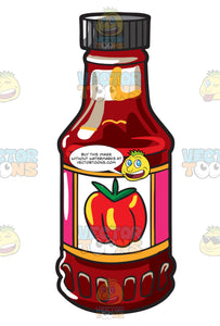 A Big Bottle Of Catsup