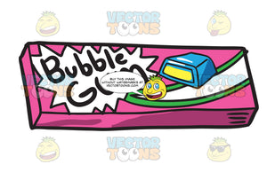 A Bubble Gum Packaging