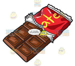 A Yummy Milk Chocolate Bar