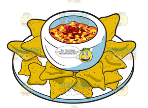 A Plate Of Nachos