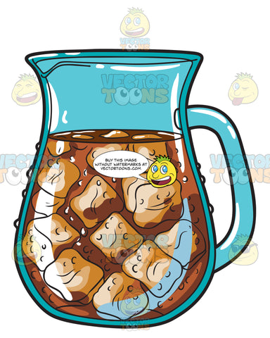 A Pitcher Of Ice Cold Cola
