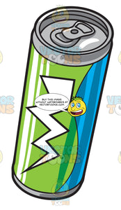 A Can Of Energy Drink