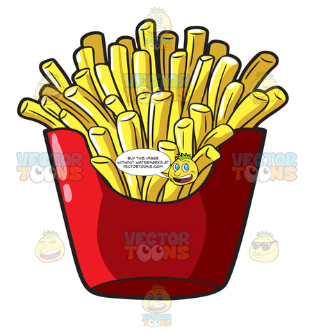 A Serving Of French Fries From A Fast Food Chain