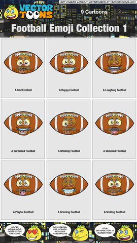 Football Emoji Collection 1