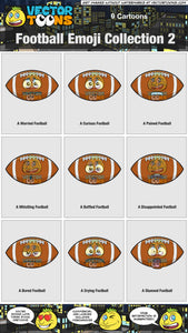 Football Emoji Collection 2