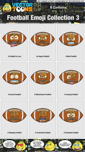 Football Emoji Collection 3