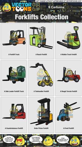 Forklifts Collection