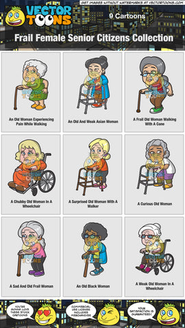 Frail Female Senior Citizens Collection