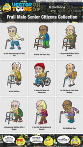 Frail Male Senior Citizens Collection