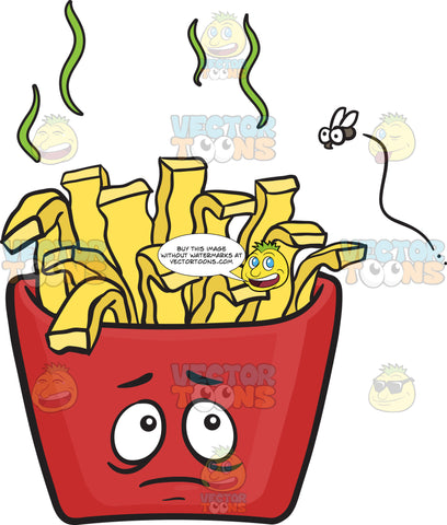 Spoilt Pack Of French Fries Emoji