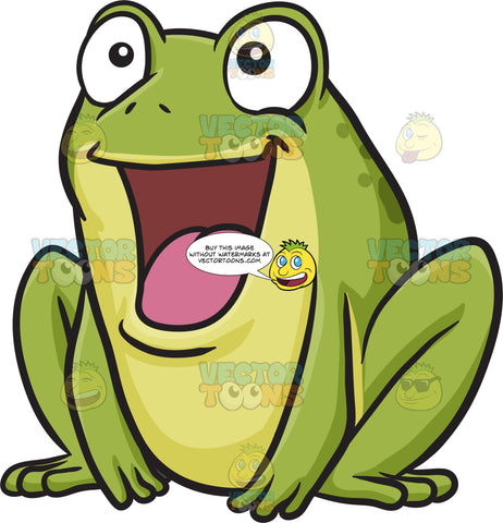 A Delighted Frog