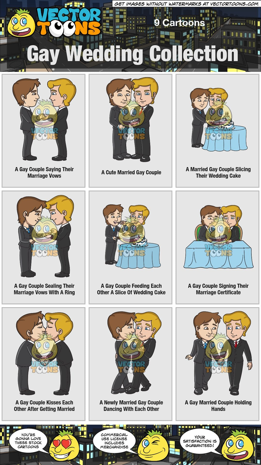 Gay Wedding Collection