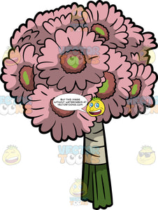 A Beautiful Bouquet Of Gerbera Daisies
