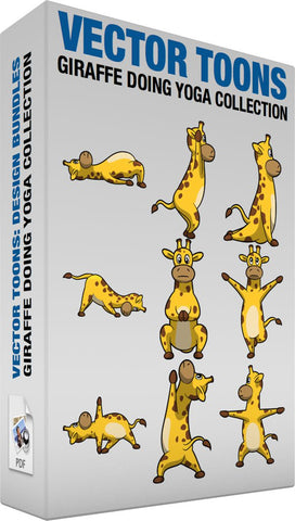 Giraffe Doing Yoga Collection