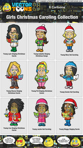 Girls Christmas Caroling Collection