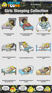 Girls Sleeping Collection