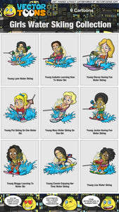 Girls Water Skiing Collection