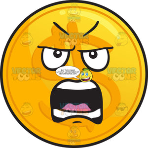 Nagging Golden Set Of Coin Emoji