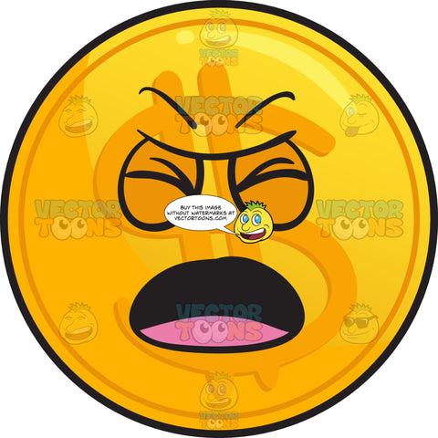 Nagging Golden Coin Emoji