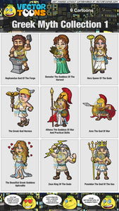 Greek Myth Collection 1