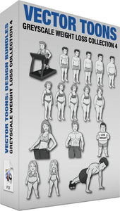 Greyscale Weight Loss Collection 4