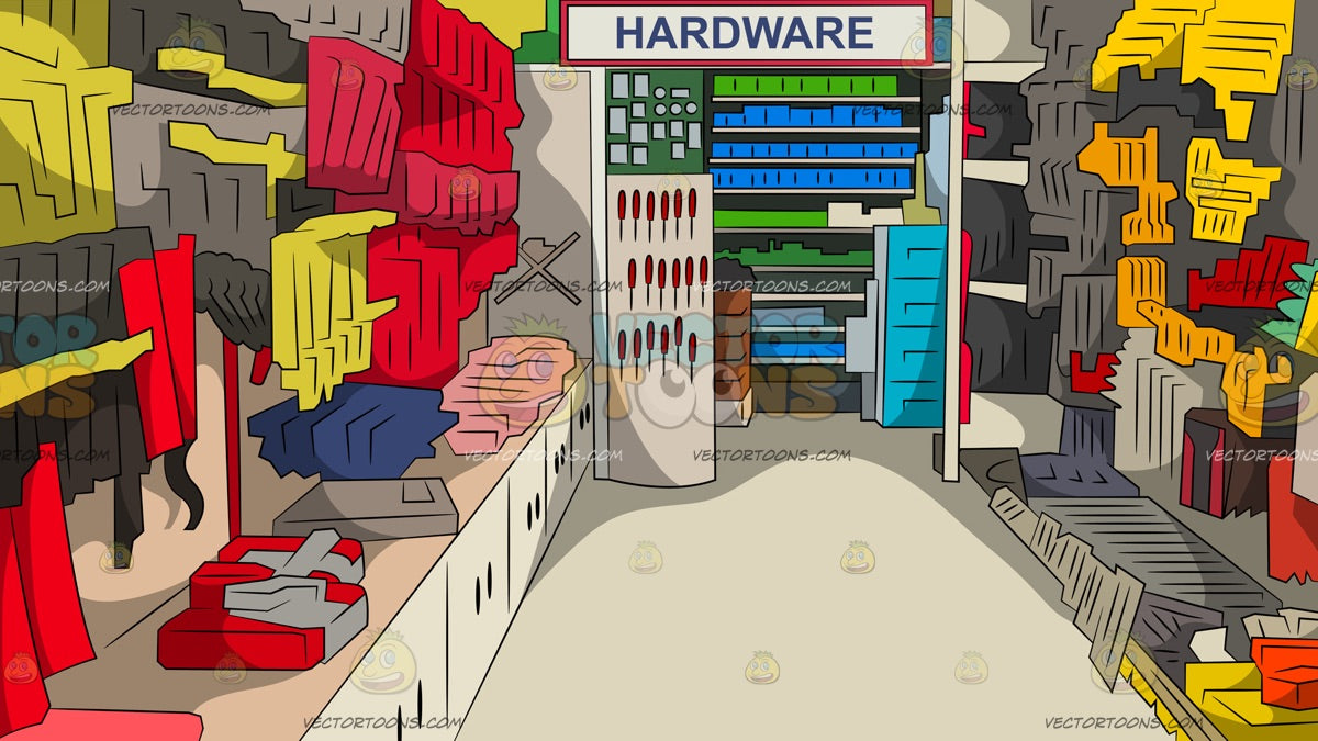 Hardware Store Background