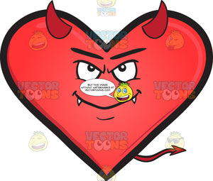 Devil Heart Emoji