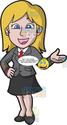 A Very Friendly High School Girl Wearing A School Uniform