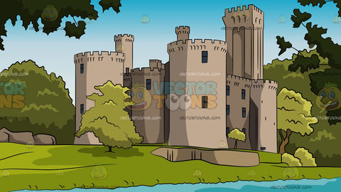 High Wall Castle Background