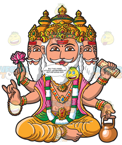 The God Brahma