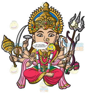 The Hindu Goddess Durga
