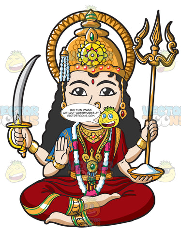 The Hindu Goddess Parvati