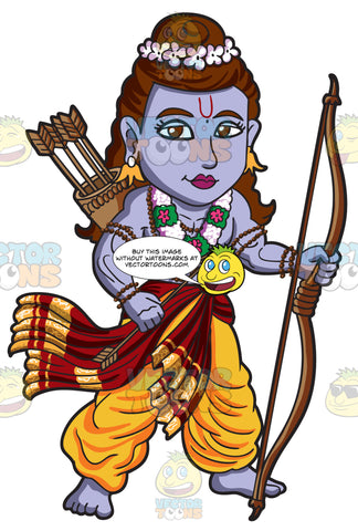 The Hindu God Rama
