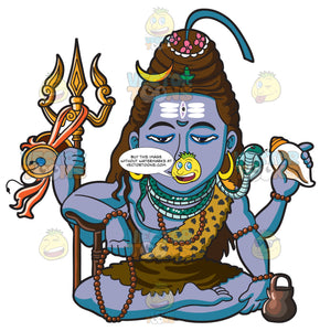 The Hindu God Shiva